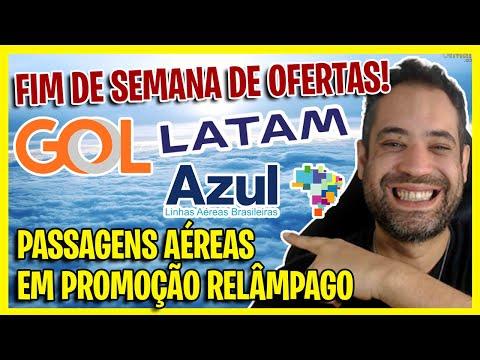 AZUL, GOL E LATAM OFERTAS RELÂMPAGO DO FINAL DE SEMANA! SÓ OS MELHORES PREÇOS!