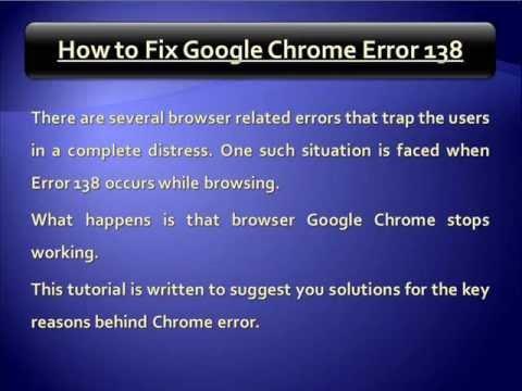 Problem google chrome youtube