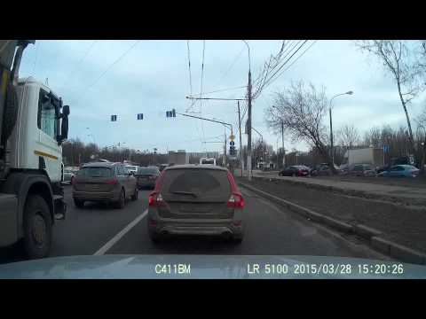 Движение в Москве стандартно сумбурное