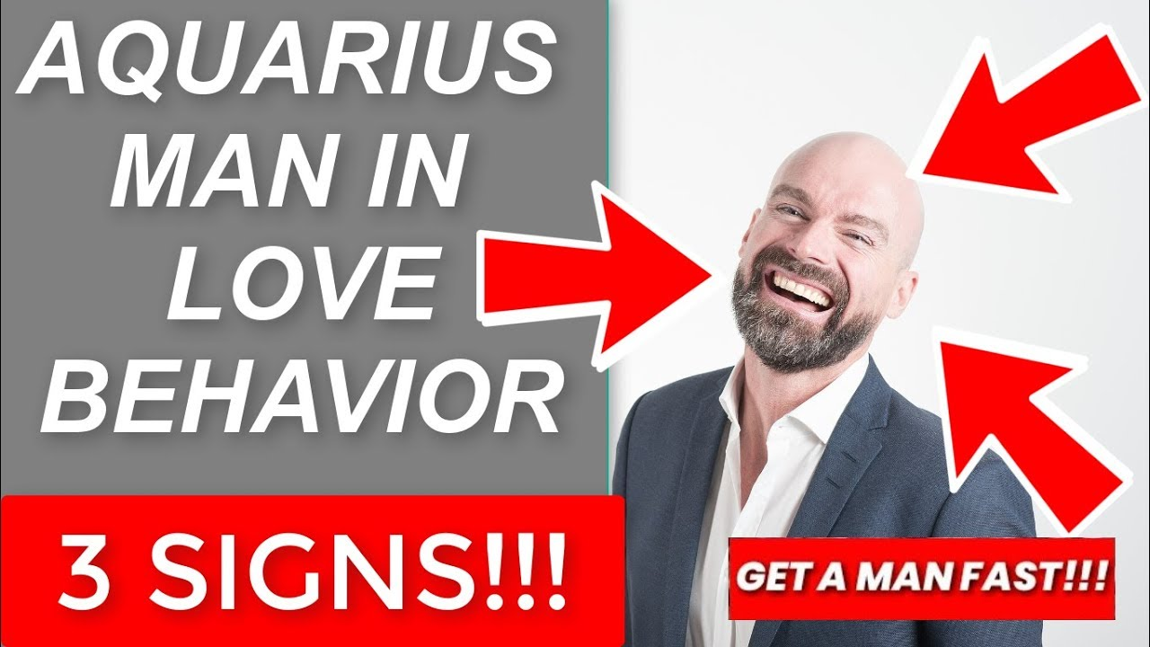 Aquarius Man in Love Behavior - 3 How Aquarius Man Shows