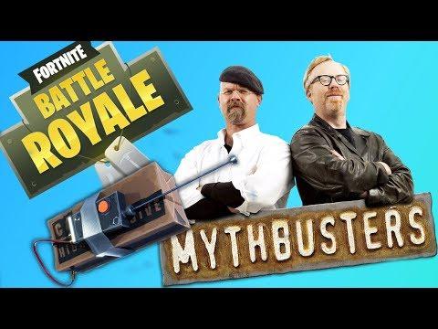 Fortnite Battle Royale NEW ITEM! C4 Mythbusters!
