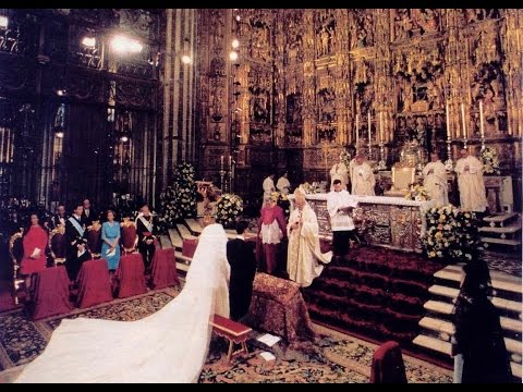 The Royal Wedding of Infanta Elena and Jaime de Marichalar 1995