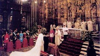 The Royal Wedding of Infanta Elena and Jaime de Marichalar 1995