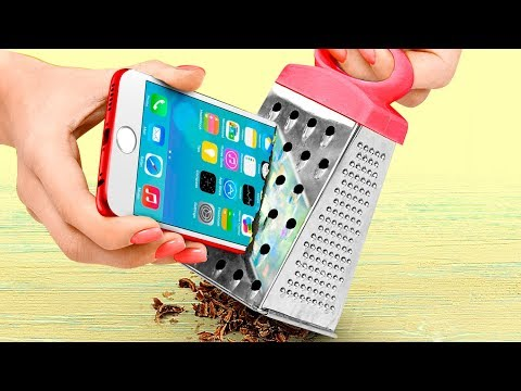 7 Coolest DIY Phone Case Ideas / Tablet And E-Reader Cases