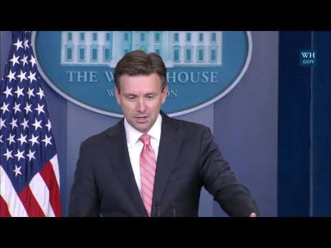 10/4/16: White House Press Briefing