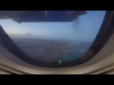 Takeoff from Barbados (BGI) Flying to St. Vincent's New Argyle International Airport (SVD)
