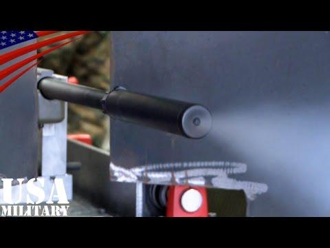 スナイパーライフルの命中精度テスト M40(レミントンM700) アメリカ海兵隊 - Hit Accuracy Test of M40 Sniper Rifle - US Marines