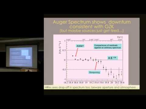 CITA 221: Ultrahigh energy cosmic rays: experimental progress and puzzles the data present