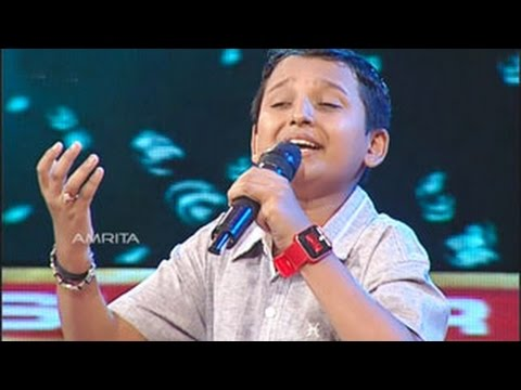 Super Star Junior- 5 | Surya Kiran Singing ... Madhuram jeevamrutha bindu