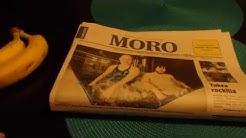 Moro-lehti menee liki suoraan roskiin mainoksineen
