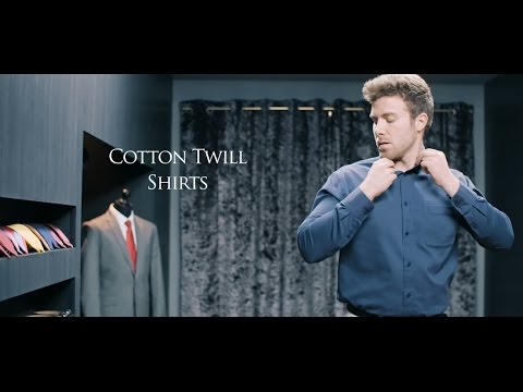 Cotton Twill Shirts From Samuel Windsor