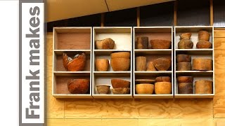 Simple Shelves on French Cleat