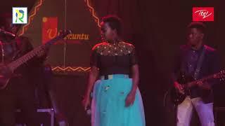 Kigali: Amazing Perfomance by Lilian Mbabazi from Uganda in 'Ikaze Night Party'