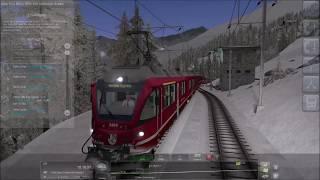 Train Simulator 2019 Bernina Express 950  Kurtzfristiger Ersatz Gameplay