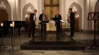Kansax Quartet - J.S. Bach, Concerto Italiano BWV 971 - Presto