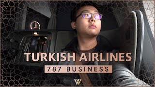 Turkish Airlines 787 Business Class - Istanbul to Atlanta