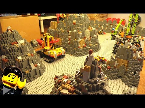Mining Scene Under The LEGO City Begins! Feb. 11, 2018