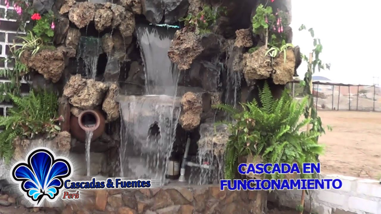 Cascadas artificiales fuentes de agua muro lloron velo for Cascada artificial en pared