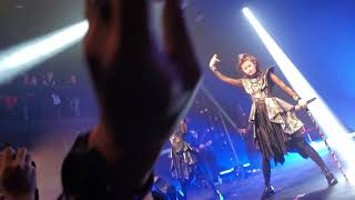 This was taken from the very front, Row 2 from the Barrier. (Specia...