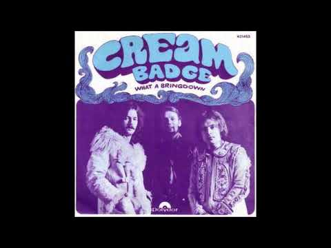 Cream  Badge 1969