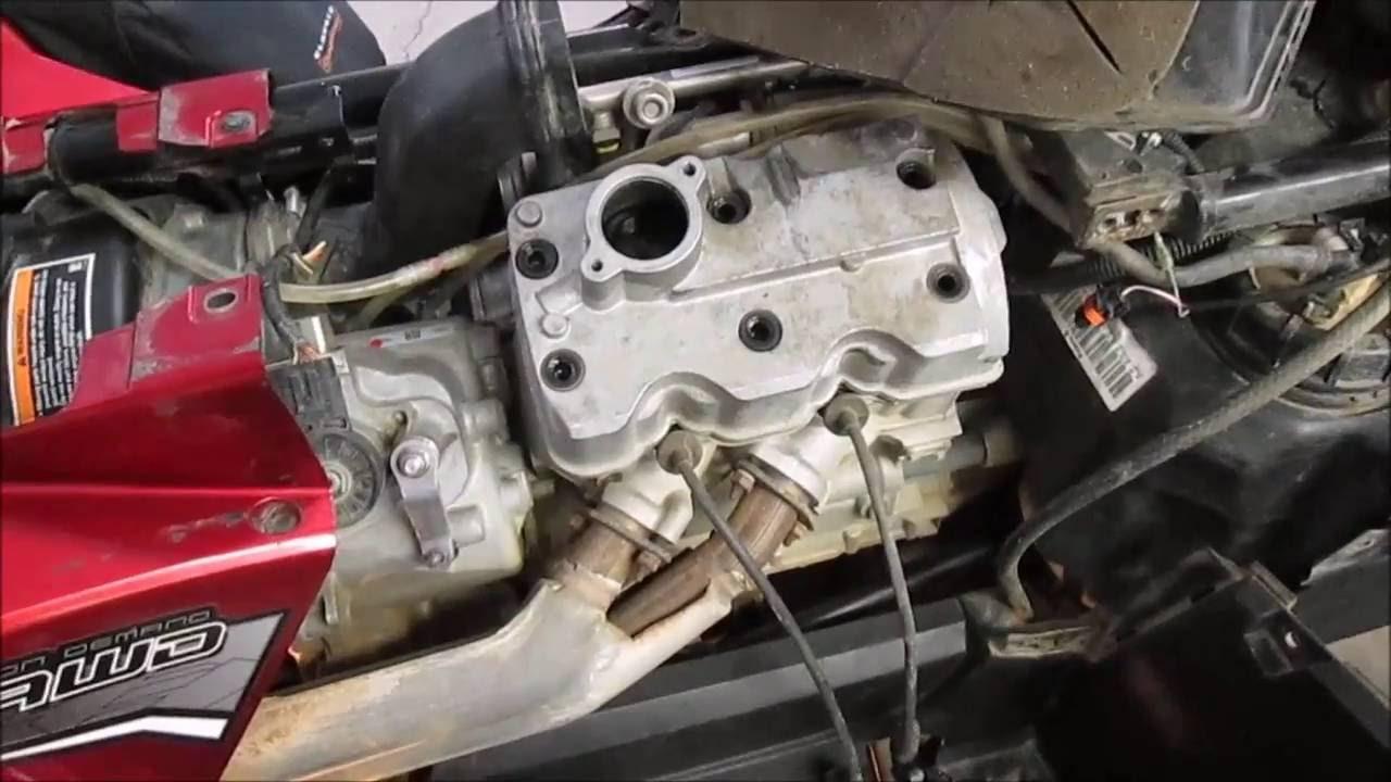 ATV Polaris Sportsman 850 Oil in the Airbox - YouTube