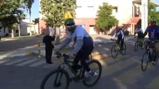 Realiza STAUS su primera rodada de bicicletas