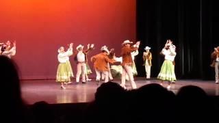 Popurrí de Nuevo León. Ballet Folklór...
