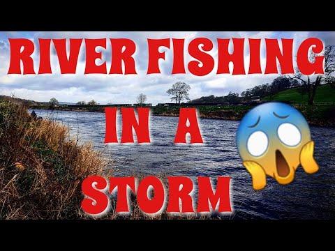 Dace Fishing On A Rising River Ribble