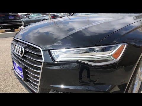 2018 Audi A6 Lake forest, Highland Park, Chicago, Morton Grove, Northbrook, IL A181859