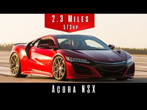 2017 Acura NSX (Top Speed)