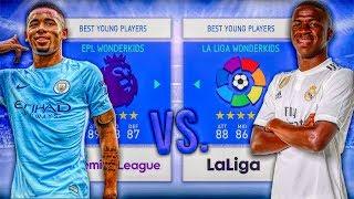 Premier League WONDERKIDS vs. La Liga WONDERKIDS! - FIFA 19 Career Mode