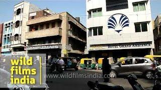 Traffic Near Sidi Sayyed Masjid, Ahmedabad