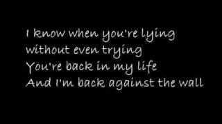 Taio Cruz - Crying Over You ft John Reid w/ Lyrics