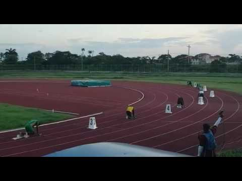 Guyana's second Independence track meet 2017: 4x100m relay