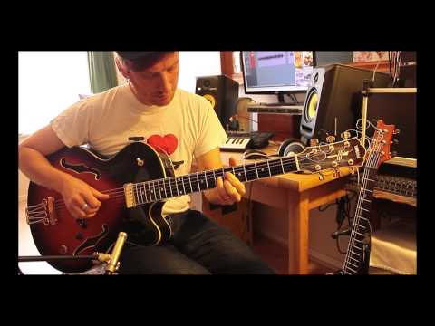 Someday My Prince Will Come - Solo Jazz Guitar - Yamaha AEX1500