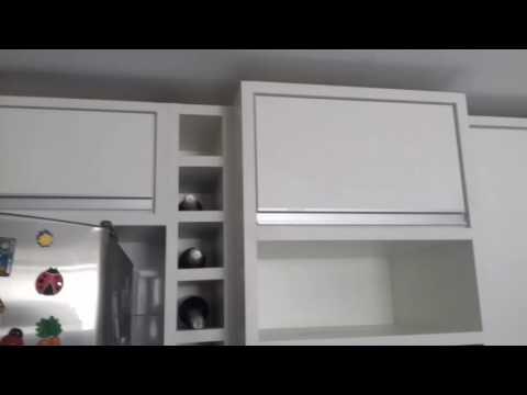 Cozinha planejada branca - Feira de Santana