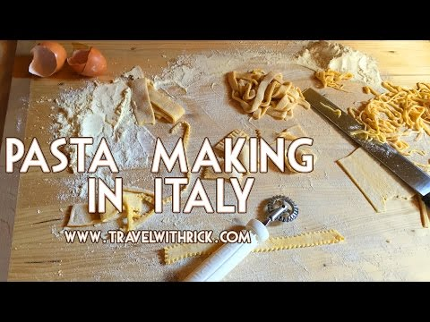Pasta Making In Italy