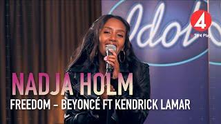 """Nadja Holm – """"Freedom"""" – Beyoncé ft. Kendrick Lamar – Idol 2020 - Idol Sverige (TV4)"""