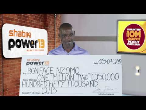 P13-010 WINNER BONIFACE NZOMO - YouTube