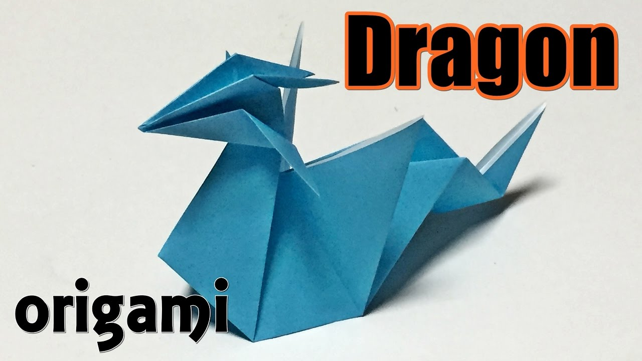 Easy Origami Dragon For Beginners How To Make A Paper Cool Dragon