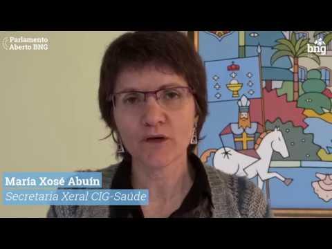María Xosé Abuín (CIG-Saúde) Cómpre recuperar os 6.000 postos de traballo da sanidade pública