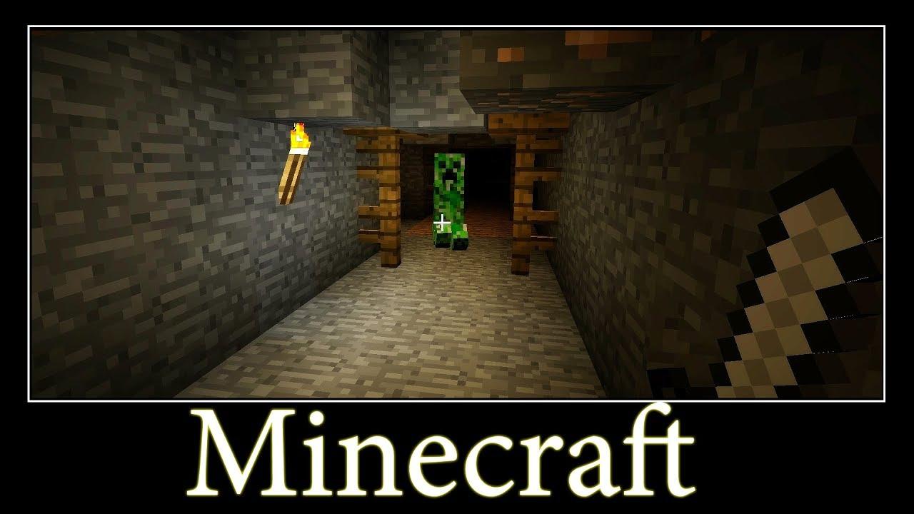 код в майнкрафт на подземную шахту #7