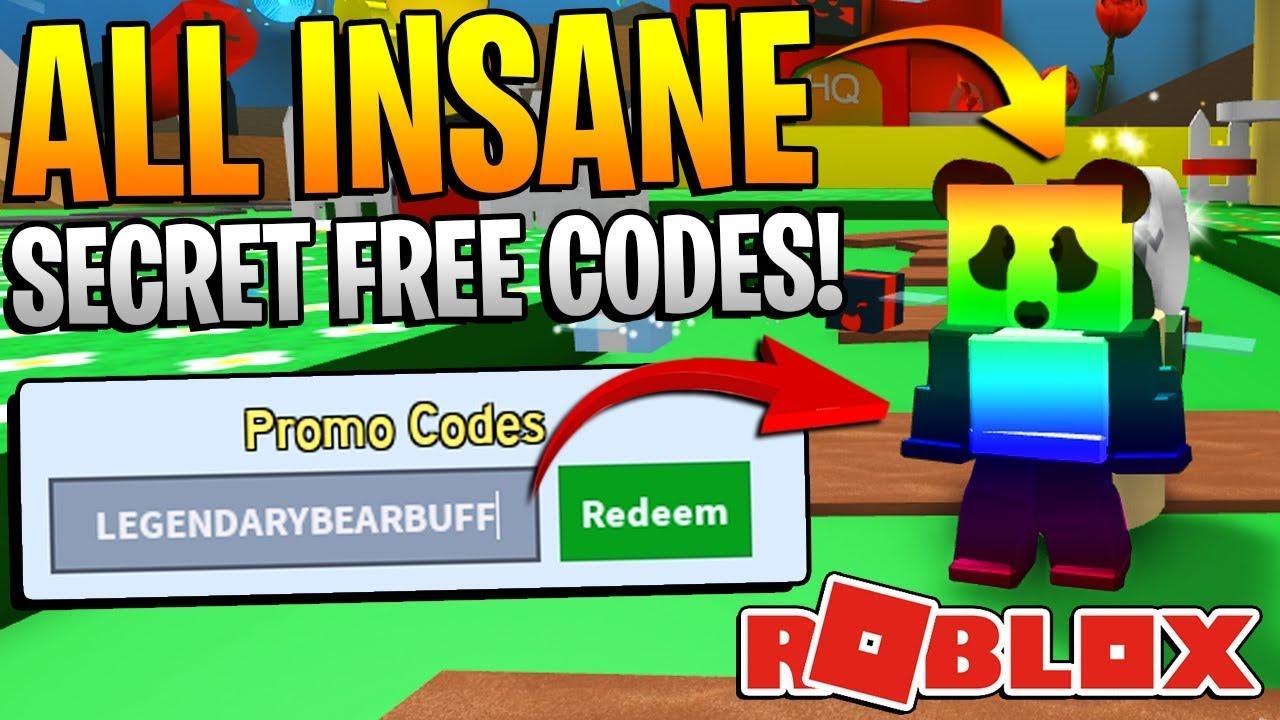 Roblox Bee Swarm Simulator Codes Insane Free Codes Youtube