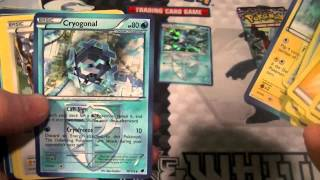Pokemon Frost Ray Galceon theme deck opening