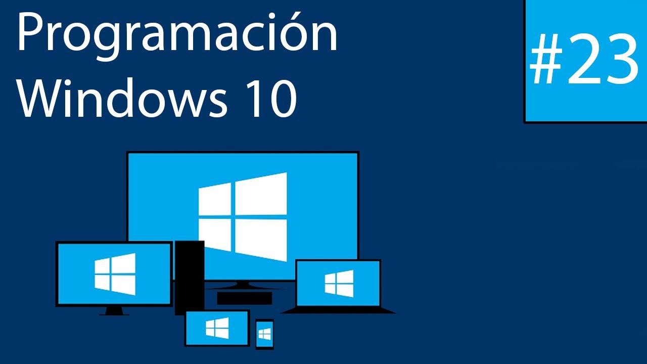 Programando en Windows 10 23 Semantic Zoom  YouTube