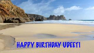 Udeeti Birthday Song Beaches Playas