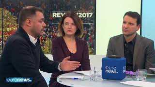 Euronews review of the year 2017 - live Video