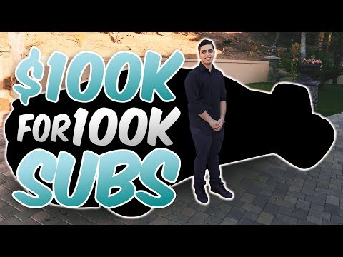 $100,000 CAR FOR 100,000 SUBS (INSANE BIRTHDAY SURPRISE)