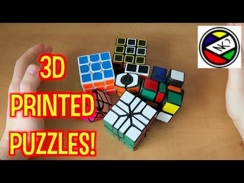 Some Beautiful 3D-Printed Puzzles - NK Cubed