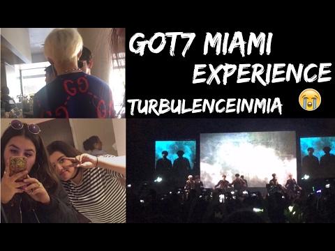 [STARBUCKS WITH GOT7??] GOT7 MIAMI FANMEET & HITOUCH EXPERIENCEW/ FOOTAGE #TURBULENCEINMIA